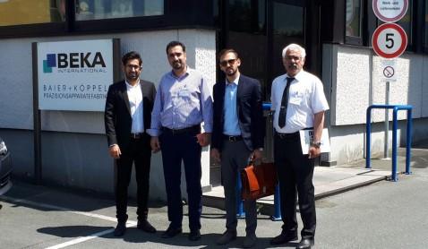 بازدید از کارخانه BEKA آلمان