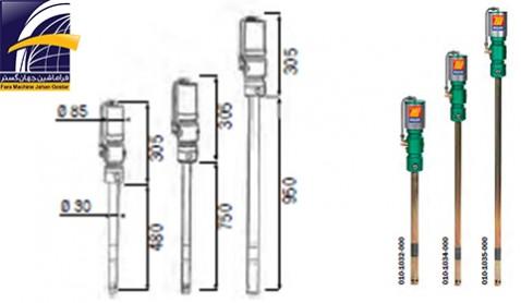 گریس پمپ بادی MECLUBE  مدل 700
